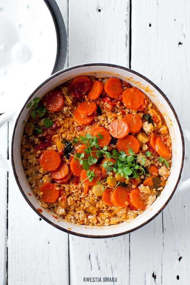 Lentil and Vegetable Biryani