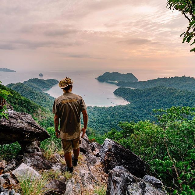 Hiking to the top of one of the 800 islands in the Mergui Archipelago if you get a chance to visit one of them be sure to take your camera as the views from the top are nothing short of spectacular.