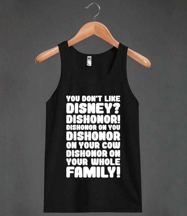 You Don't Like Disney? Dishonor!