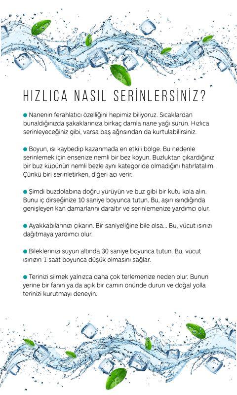 AŞIRI SICAKLARLA BAŞA ÇIKMANIN PRATİK YOLLARI..   @gqturkiye #sıcak #yaz