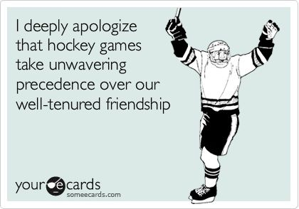 hockey - Click image to find more Humor Pinterest pins