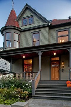 Choosing Exterior Paint Colors ~ 10 examples of color combinations