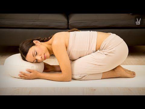 Entspannendes Yin Yoga speziell für die Schultern - YouTube