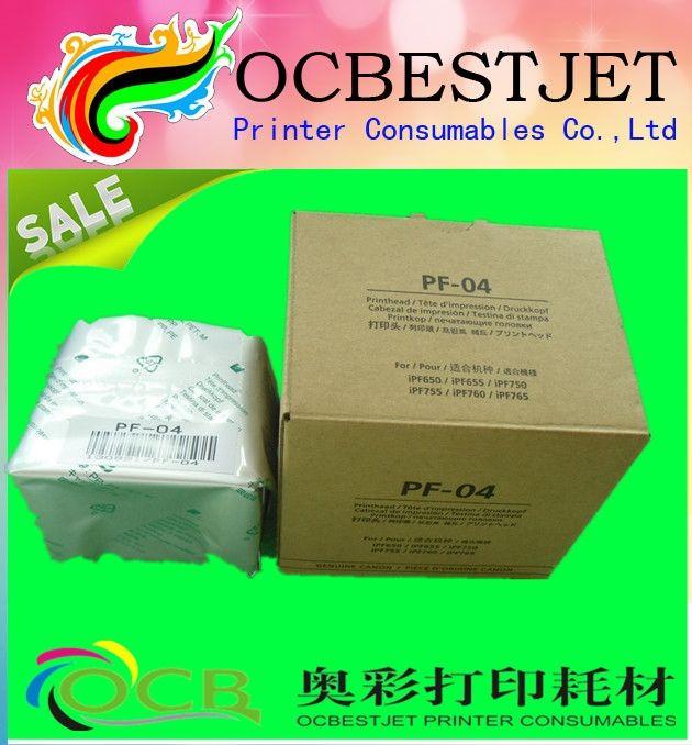373.50$  Buy here - http://alipvv.worldwells.pw/go.php?t=32636082381 - 2016 hot sale new original print head pf 04 for canon plotter IPF650/IPF655/IPF750/IPF755