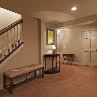 84 best images about basement remodel apartmaent on pinterest - Small finished basement ideas ...