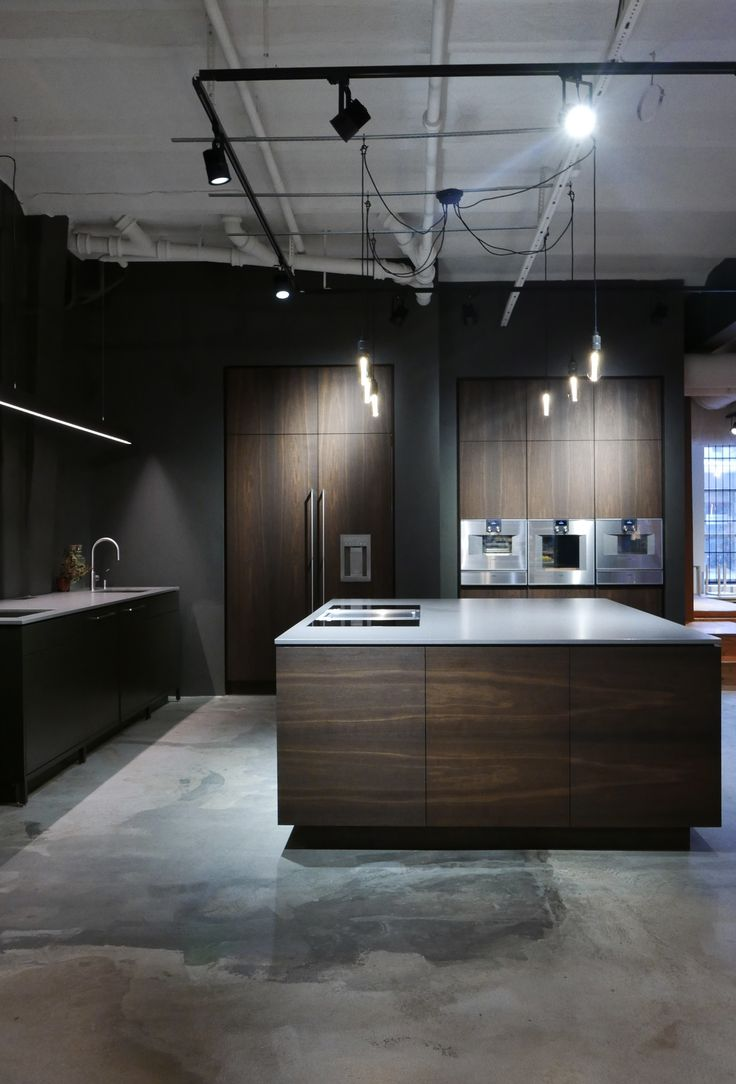 Hamran Kitchen. Extraordinary kitchens from Norway. Kitchen inspiration. Scandinavian design. Dekton worktop. Smoken oak. Gaggenau appliances. Bora professional.