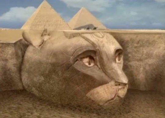O que há por baixo das pirâmides do Egito?