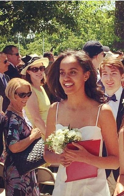#Congratulations To #FirstDaughter Of The United States #MaliaObama  First Daughter