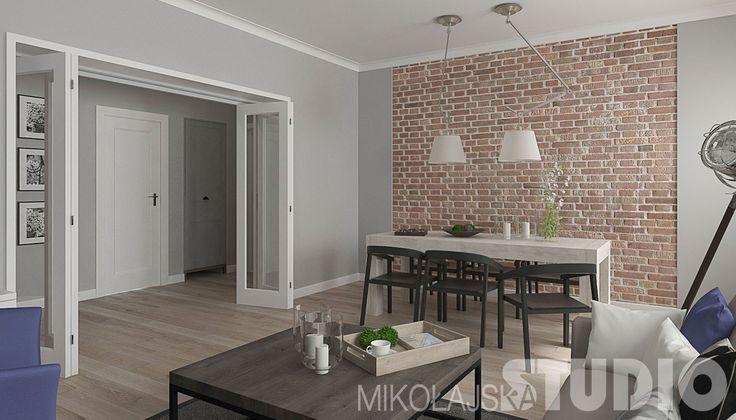 Mieszkanie w budynku z lat 40′ – MIKOŁAJSKAstudio Krystyna Mikołajska