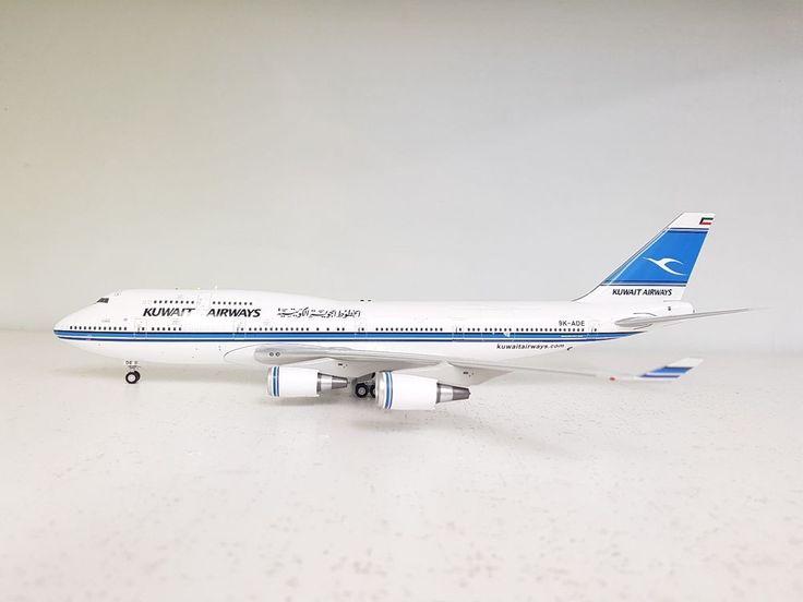 Inflight 200 Boeing 747-400 Kuwait Airways 9K-ADE 'Al-Jabriya' (with stand) #Inflight200