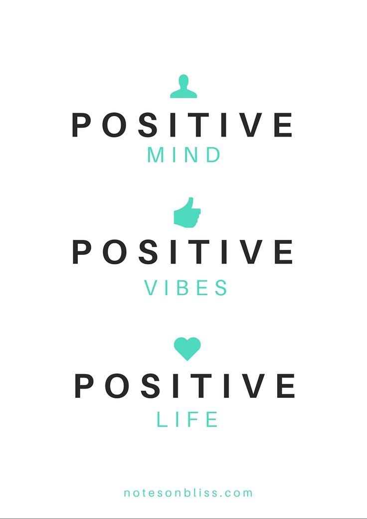 Positive Mind Positive Vibes Positive Life My Life: Positive Mind. Positive Vibes. Positive Life. My Life