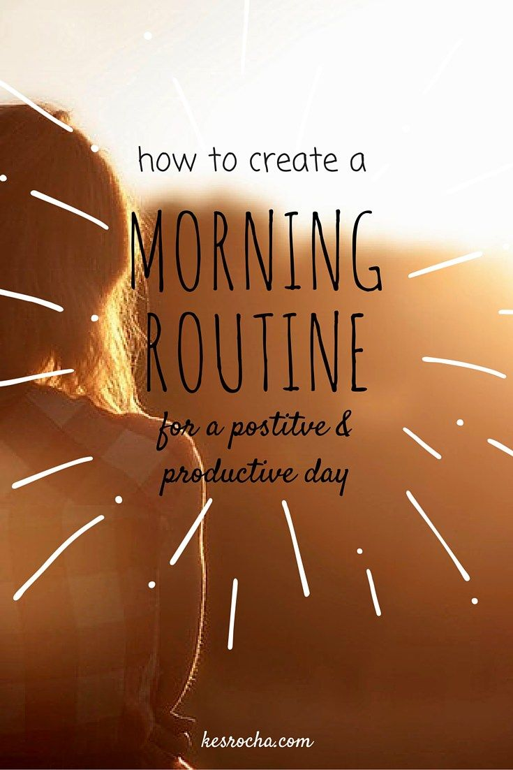 Supercharge your morning: with a Morning Routine for SUCCESS  OK. I know what you're thinking.  That youHATE the morning. You'd rather sleep in. Who wouldpurposely choose to get up EARLY when they don't have to?  Am i Right?  …Wanna know a secret? I was not a morning person eitherbut now…  I LOVE …