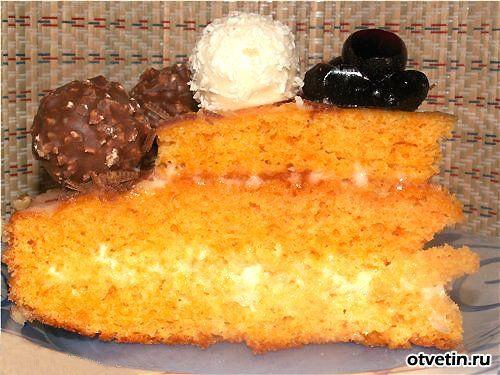Как испечь торт золушка