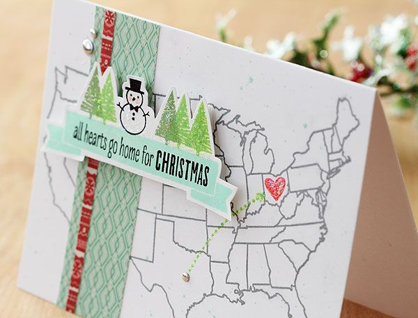 All Hearts Go Home For Christmas by Lisa Spangler for Hero Arts