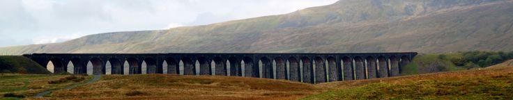 Ribblehead Viaduct, Yorkshire, UK - taken in October 2013