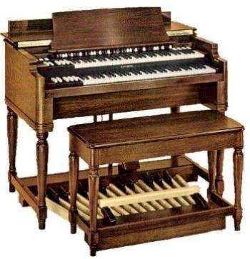 Hammond organ , Grandpop loved playing one at home & would play one at church