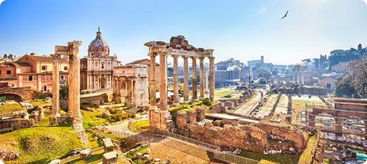 Eso es la ciudad de Roma.