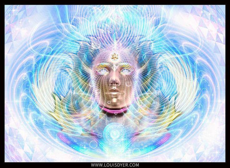 Inspiration Dimension. Something new! http://www.digitalvisionaryart.co.uk/advanced-digital-painting-course/ #art #digital #psychedelic #trippy #artwork #learn #online