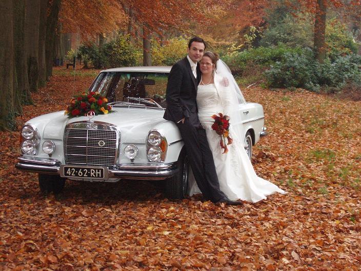 Herfst bruidspaar