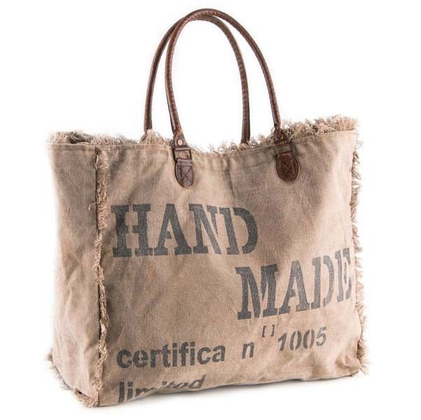 Waste not, is the concept behind these awesome bags from Mona B. Why make new materials when there are interesting and perfectly usable fabrics that can be recycled or upcycled. Mona B's goal is to re