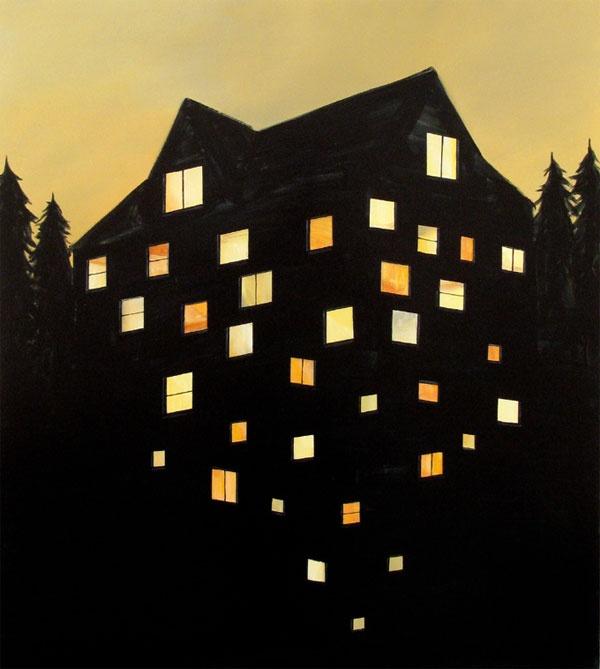 Ryan Mrozowski: Design Inspiration, Big House, Window, Illustrations, Colors, Dreams Image, Ryan Mrozowski, Posts, Cool Illusions