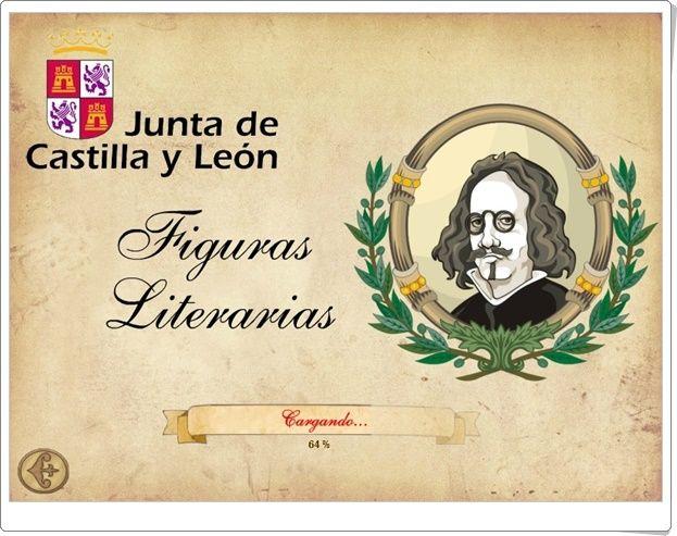 """""""Figuras literarias"""" (Junta de Castilla y León)"""