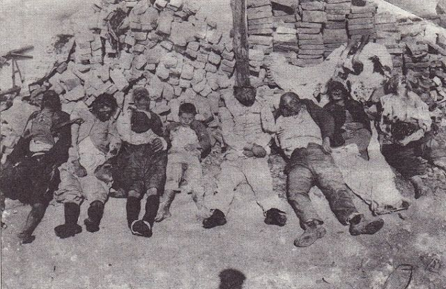 Santeos: Τουρκικές θηριωδίες στη Σμύρνη, 1922.