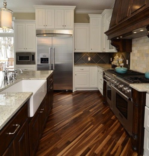 Beautiful acacia flooring kitchen ideas pinterest for Acacia kitchen cabinets