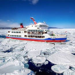Hokkaido Ice Breaker 6D4N. Enjoy the beautiful winter in Japan. If you are interested, please contact Ezytravel at 500833 or (021) 500833 from mobile or visit our website at http://ezytravel.co.id