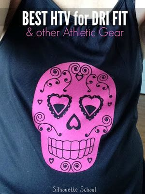 The Best Heat Transfer Vinyl on Dri Fit and Other Athletic Gear is....