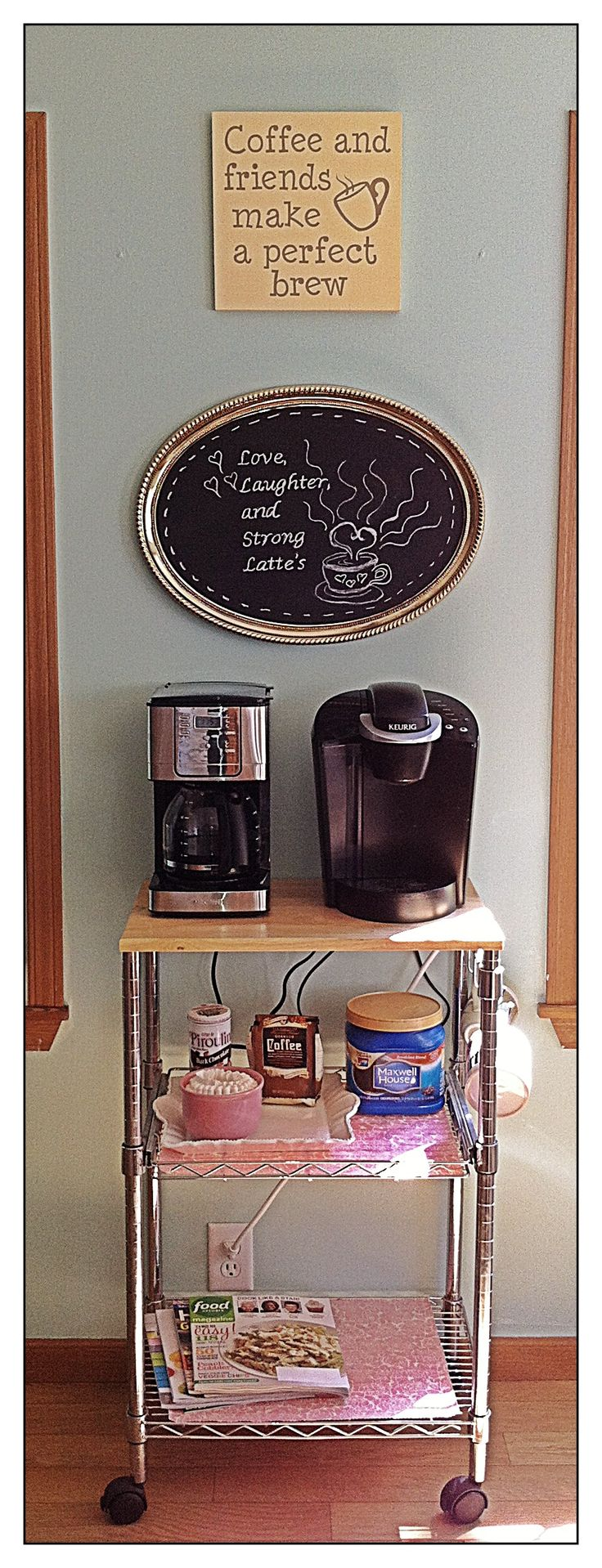 My new coffee station!