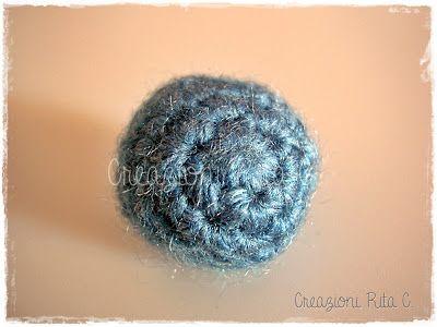 Tutorial: Come Realizzare una Perla a Uncinetto - by Creazioni Rita C. Only Handmade!