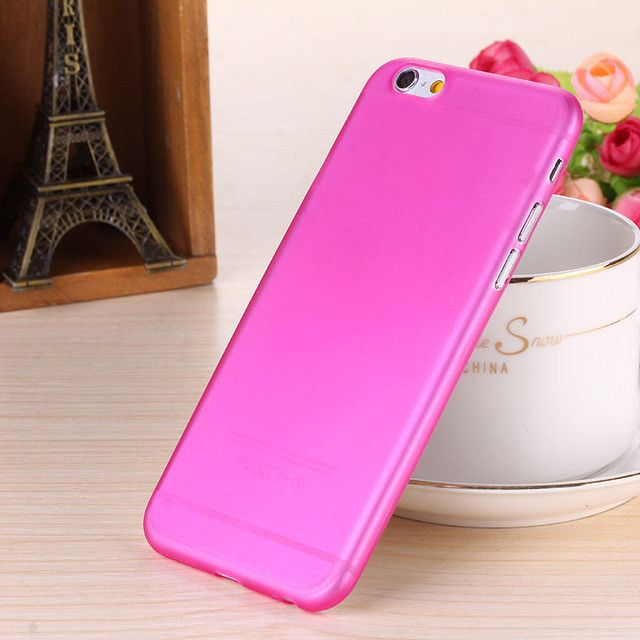 Matte Transparent Ultra-thin 0.3mm Back Case For iPhone 7 6s 4.7 PC Protective Cover Skin Shell for Apple iPhone 6 plus 5.5