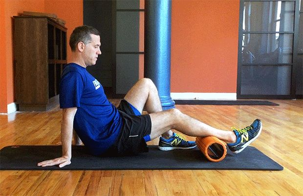 5 Foam Rolling Moves You Aren't Doing (But Should) - calves