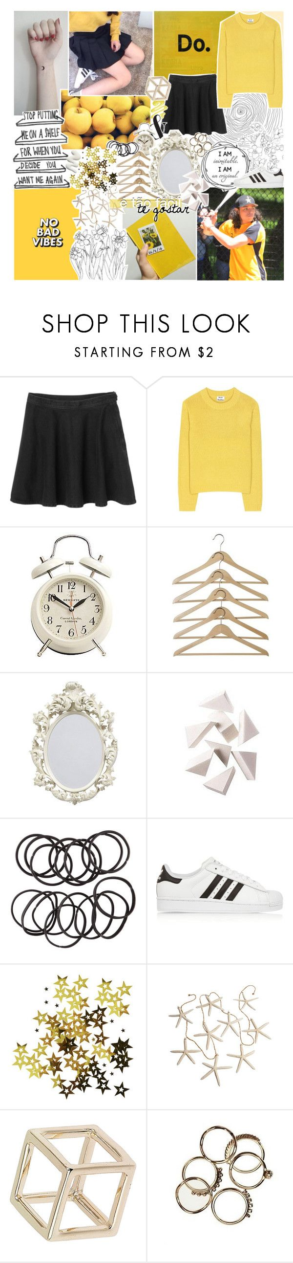 """""""CHAMEGO MEU, OLHA PRA CÁ ✽"""" by uss-nefelibata ❤ liked on Polyvore featuring Monki, Acne Studios, Bobbi Brown Cosmetics, H&M, adidas Originals, Topshop and Citizens of Humanity"""