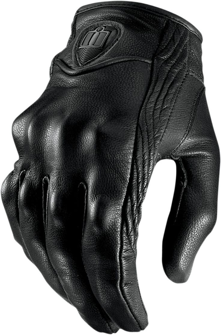 Mens leather gloves tj hughes - Ministry Of Bikes Icon Pursuit Motorcycle Gloves Stealth 54 99 Http