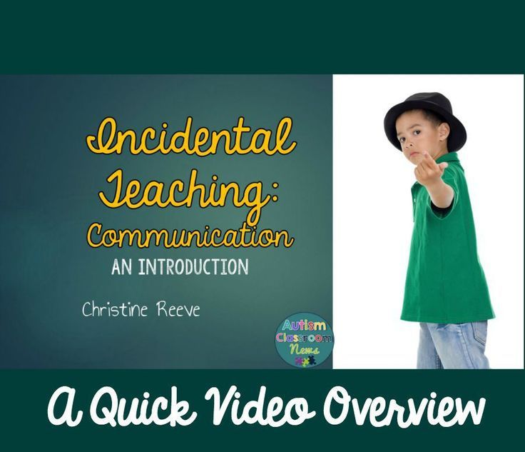Incidental Instructing: An Introduction