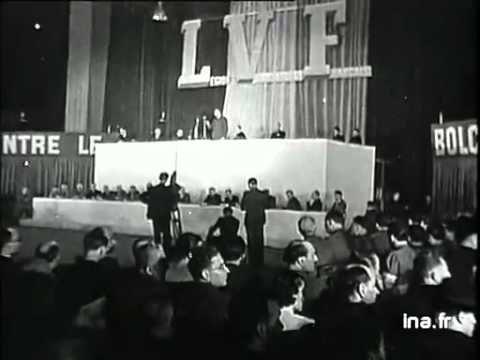 1941 le 25 juillet Réunion de la LVF au Vélodrome d'Hiver