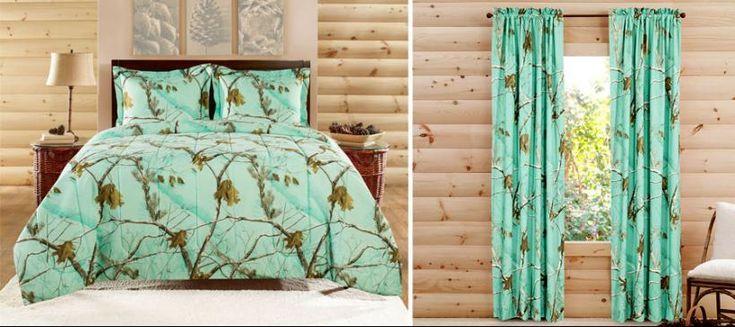 #New Realtree Colors Camo Bedding - click to see more colors   #RealtreeB2B