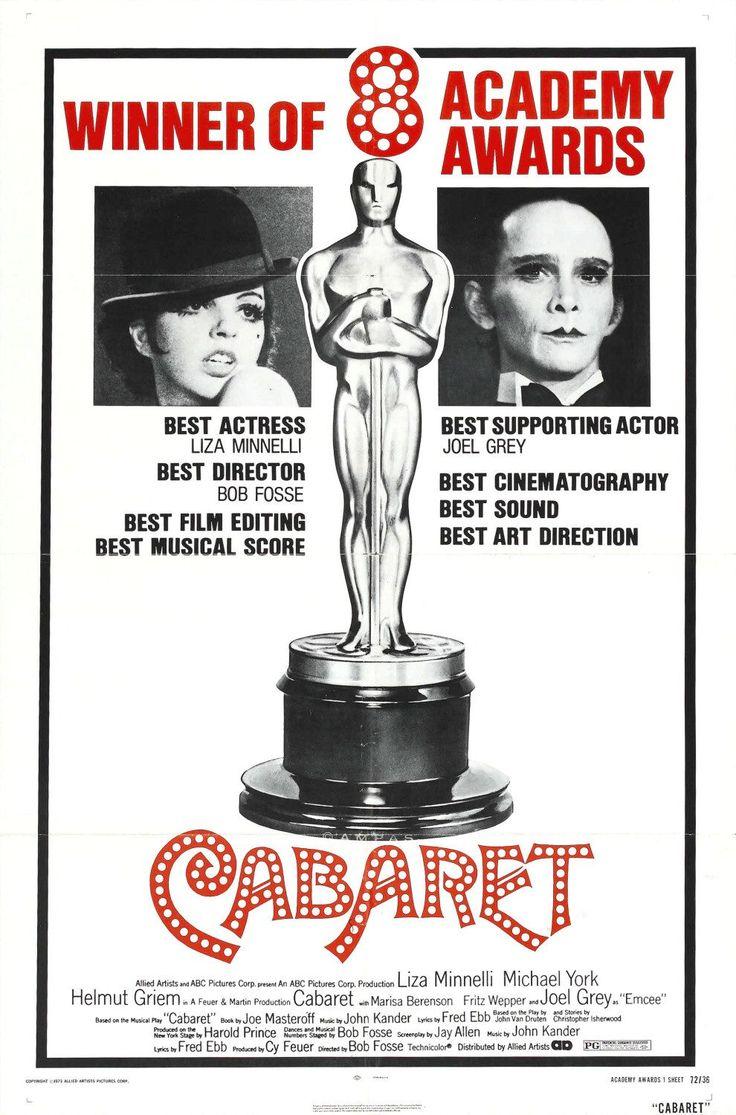 Image result for cabaret movie poster