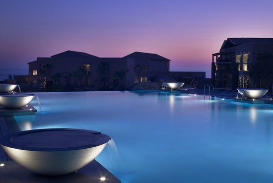 Costa Navarino, Greece. What I would give to be in that pool. Right. Now.