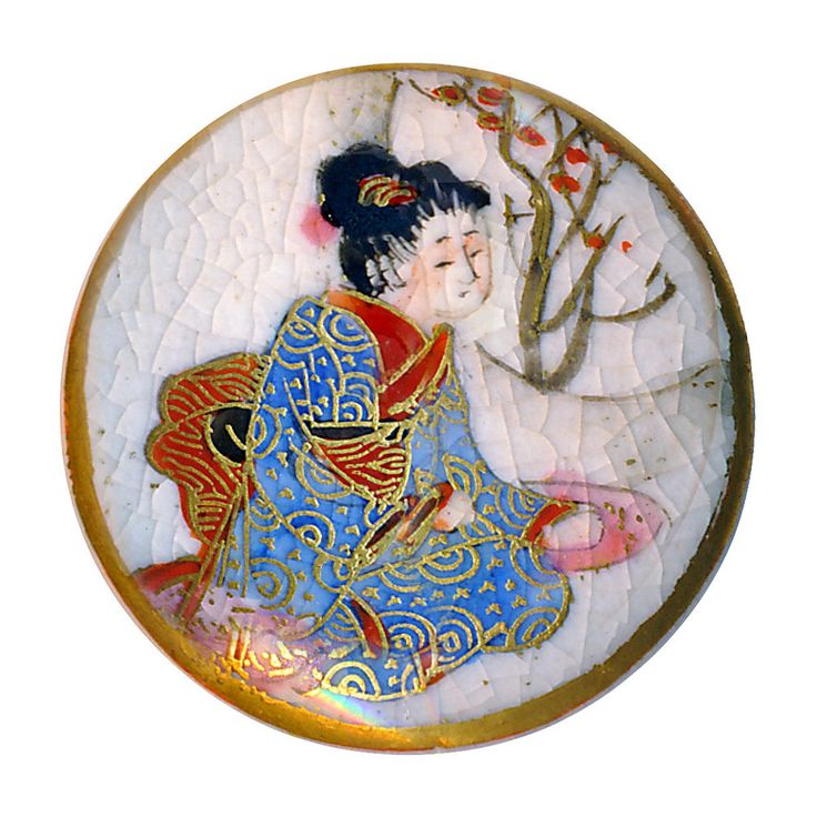 Geisha Girl Porcelain