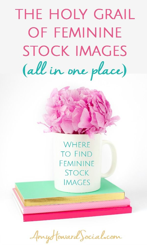 Where to find feminine styled stock images? I have found the holy grail of feminine styled stock images - all in one place - search no more - the holy grail!