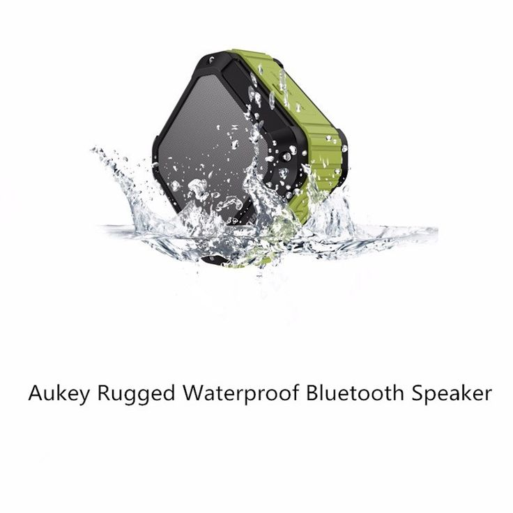 100% Original Aukey Rugged Waterproof Bluetooth Speaker Best Outdoor Outdoor MP3 Speakers Power Bank for iPhone Xiaomi //Price: $US $23.39 & FREE Shipping //     #apple