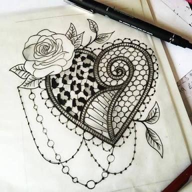 les 25 meilleures images du tableau tatouage dentelle sur pinterest tatouage dentelle designs. Black Bedroom Furniture Sets. Home Design Ideas