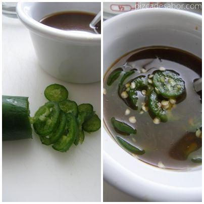Cómo cocinar arroz para sushi + salsas para acompañar sushi - www.pizcadesabor.com