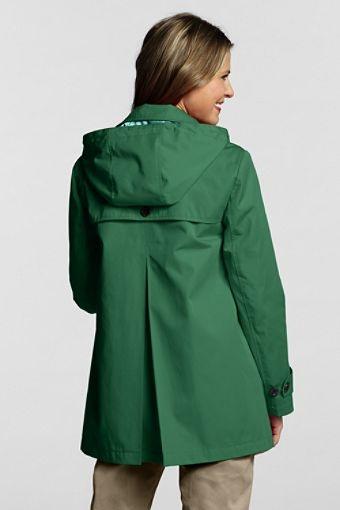 Women&39s Petite Modern Rain Swing Coat | Rain coat | Pinterest