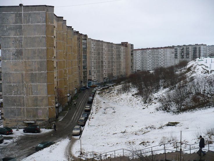 Buildings in Severomorsk - Plattenbau – Wikipedia
