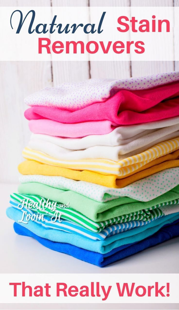 Natural Stain Removers For Laundry