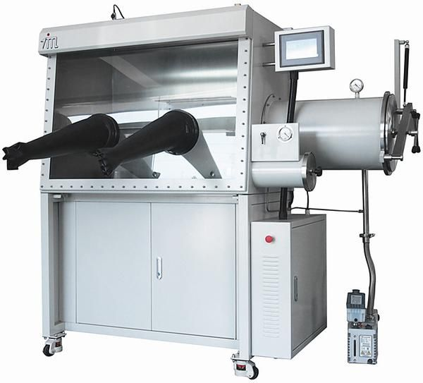 The Inert Gas Purification Glovebox System (MNT-IPGS) is designed to generate and maintain a working environment, in which O2 and H2O content are less than 1ppm.  The MNT-IPGS is an integrated turn-key workstation including  gloveboxes with stands, a vacuum pump, a solvent purification unit,  one or more water and oxygen purification units.